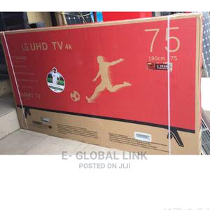 LG 75 Inches Smart UHD 4k Television | TV & DVD Equipment for sale in Lagos State, Ojodu