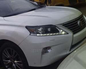 Lexus RX 2013 350 F SPORT AWD White   Cars for sale in Lagos State, Ifako-Ijaiye