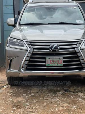 Lexus LX 2017 570 AWD Silver | Cars for sale in Lagos State, Ifako-Ijaiye