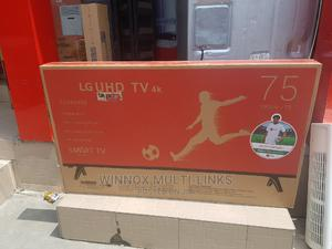 Lg Brand New 75 Inches Smart 4k Television   TV & DVD Equipment for sale in Lagos State, Victoria Island