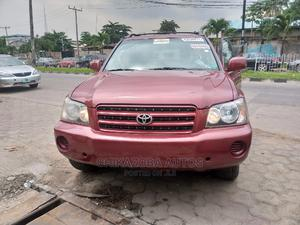 Toyota Highlander 2003 Red | Cars for sale in Lagos State, Ikeja