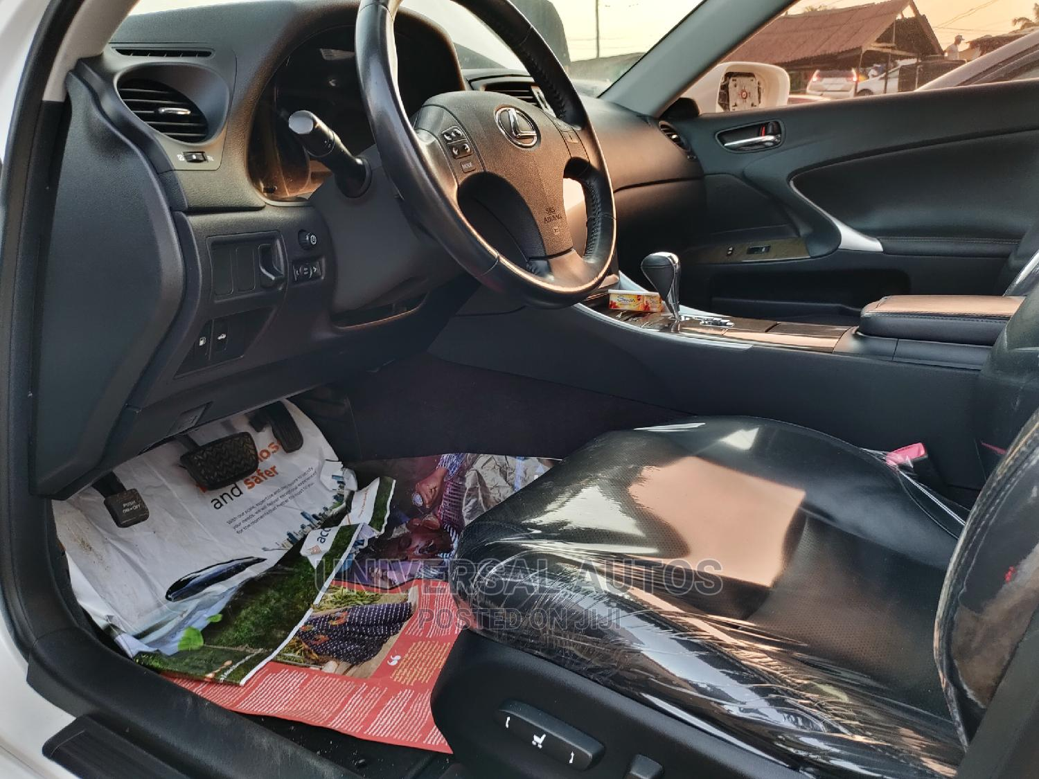 Lexus IS 2010 250 AWD Automatic White   Cars for sale in Apapa, Lagos State, Nigeria