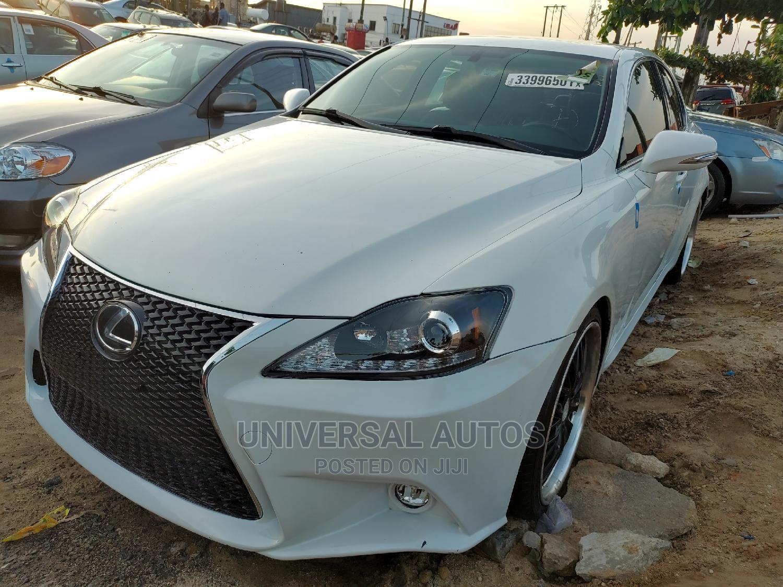 Lexus IS 2010 250 AWD Automatic White
