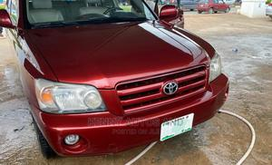 Toyota Highlander 2006 Red | Cars for sale in Lagos State, Mushin