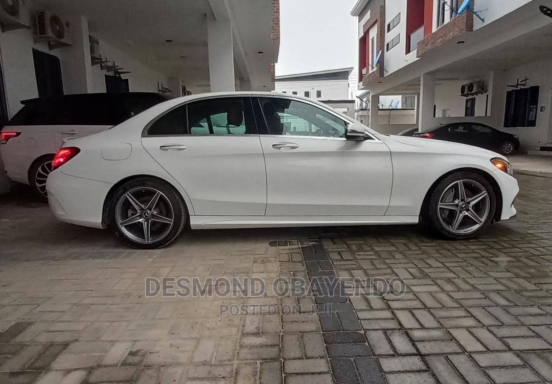Mercedes-Benz C300 2017 White