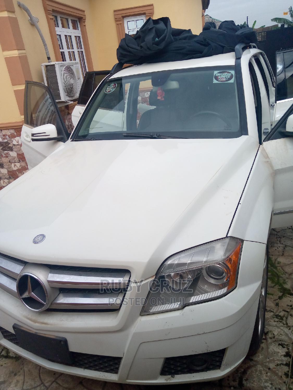 Mercedes-Benz GLK-Class 2010 350 4MATIC White