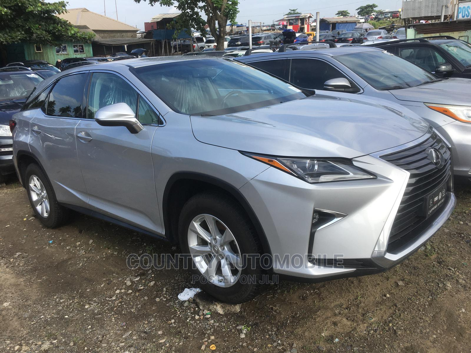 Lexus RX 2017 350 AWD Silver   Cars for sale in Apapa, Lagos State, Nigeria