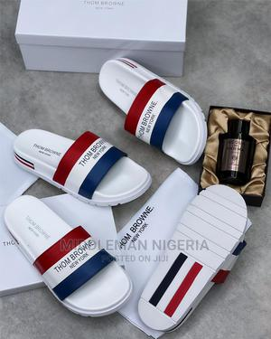 Cool Classic Thom Browne Slides   Shoes for sale in Lagos State, Apapa