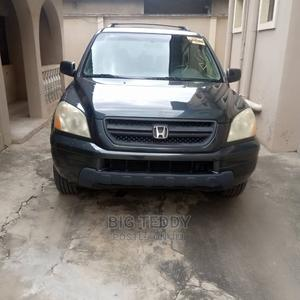 Honda Pilot 2005 EX-L 4x4 (3.5L 6cyl 5A) Gray | Cars for sale in Lagos State, Abule Egba