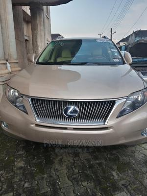 Lexus RX 2011 450h Gold | Cars for sale in Lagos State, Isolo