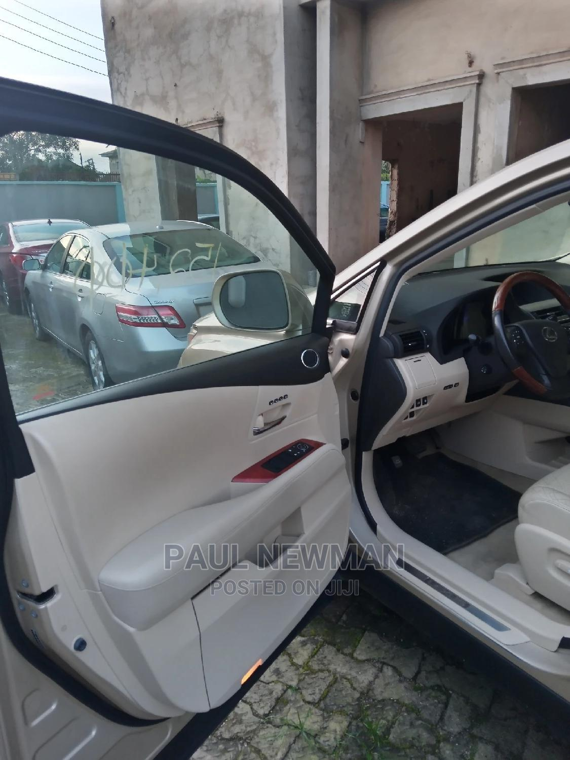 Lexus RX 2011 450h Gold   Cars for sale in Isolo, Lagos State, Nigeria