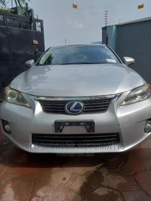 Lexus CT 2013 Base Silver | Cars for sale in Lagos State, Ifako-Ijaiye