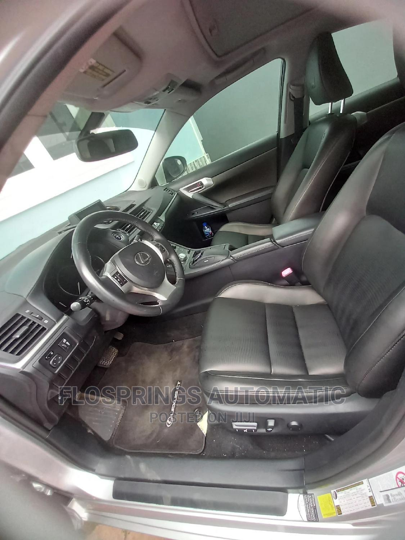 Lexus CT 2013 Base Silver | Cars for sale in Ifako-Ijaiye, Lagos State, Nigeria
