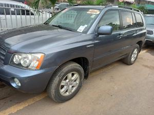 Toyota Highlander 2004 Limited V6 4x4 Gray | Cars for sale in Lagos State, Ogba