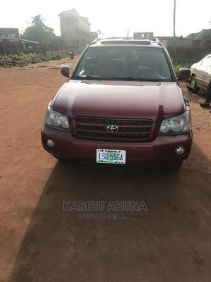 Toyota Highlander 2001 Red   Cars for sale in Ogun State, Sagamu