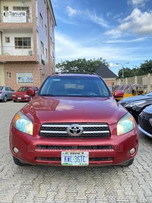 Toyota RAV4 2007 Sport Red | Cars for sale in Abuja (FCT) State, Gwarinpa