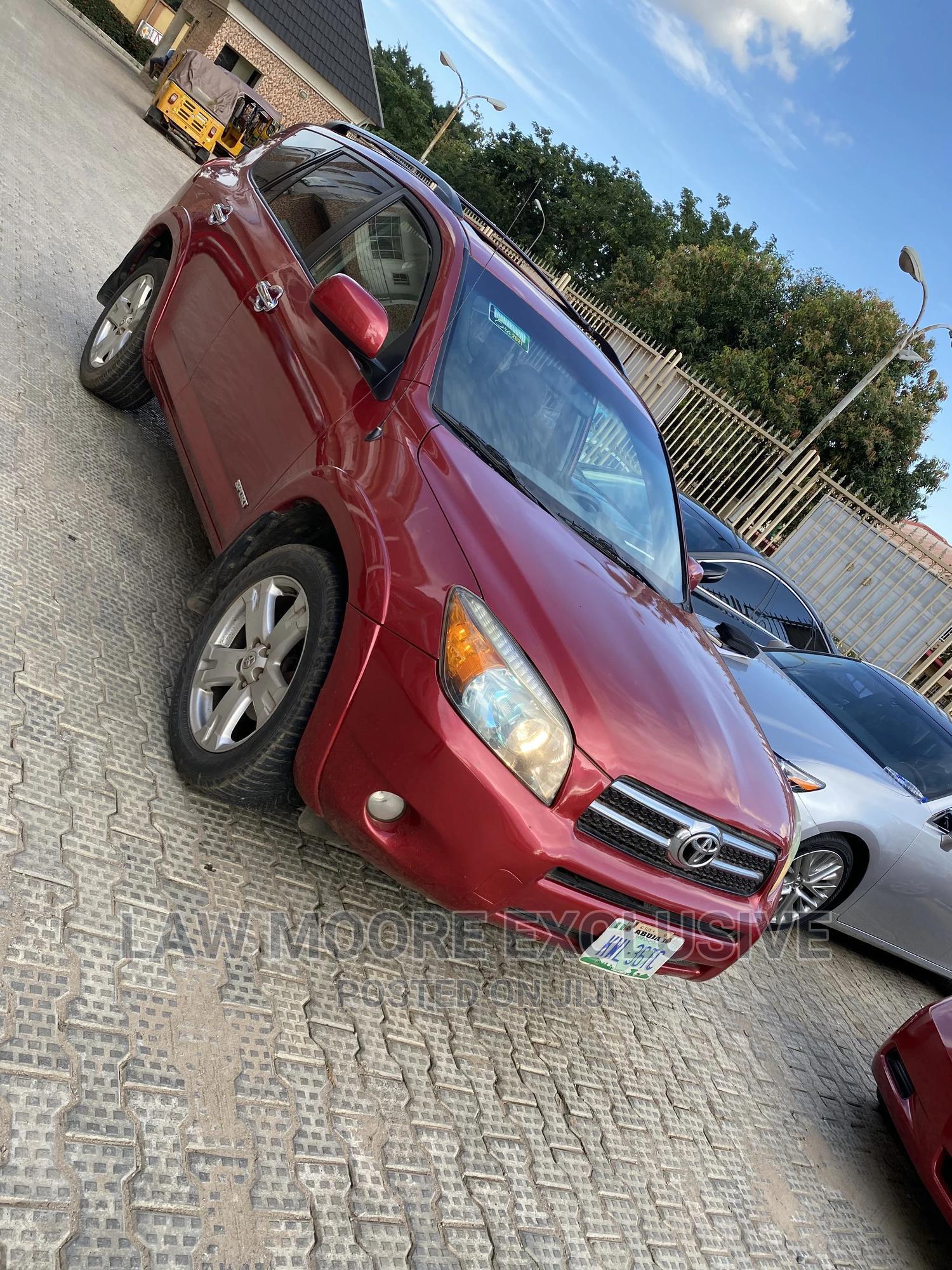 Toyota RAV4 2007 Sport Red   Cars for sale in Gwarinpa, Abuja (FCT) State, Nigeria
