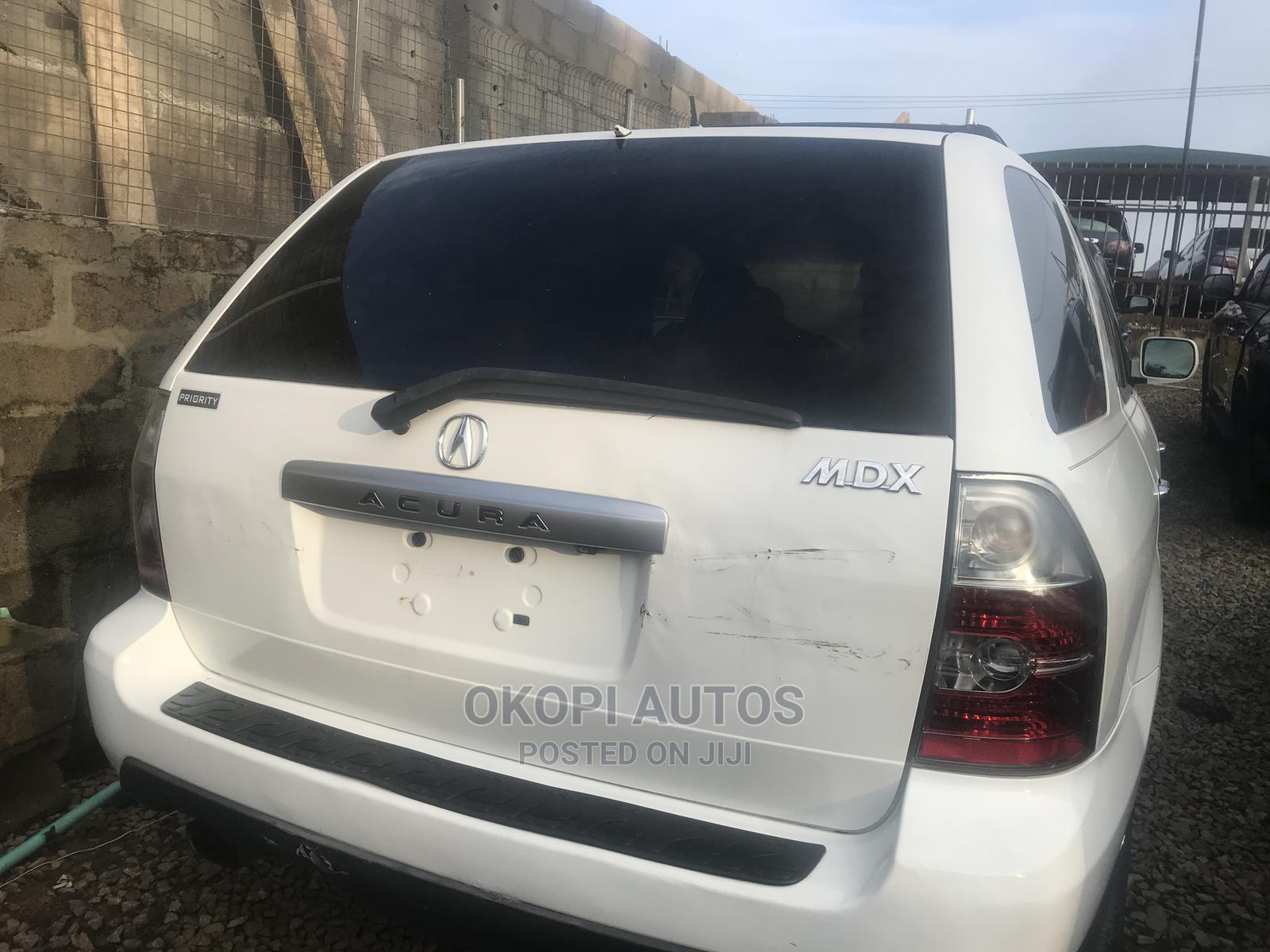 Acura MDX 2007 SUV 4dr AWD (3.7 6cyl 5A) White