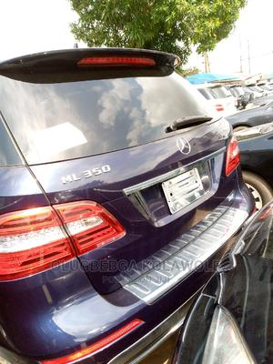 Mercedes-Benz M Class 2012 ML 350 4Matic Blue   Cars for sale in Lagos State, Ikeja