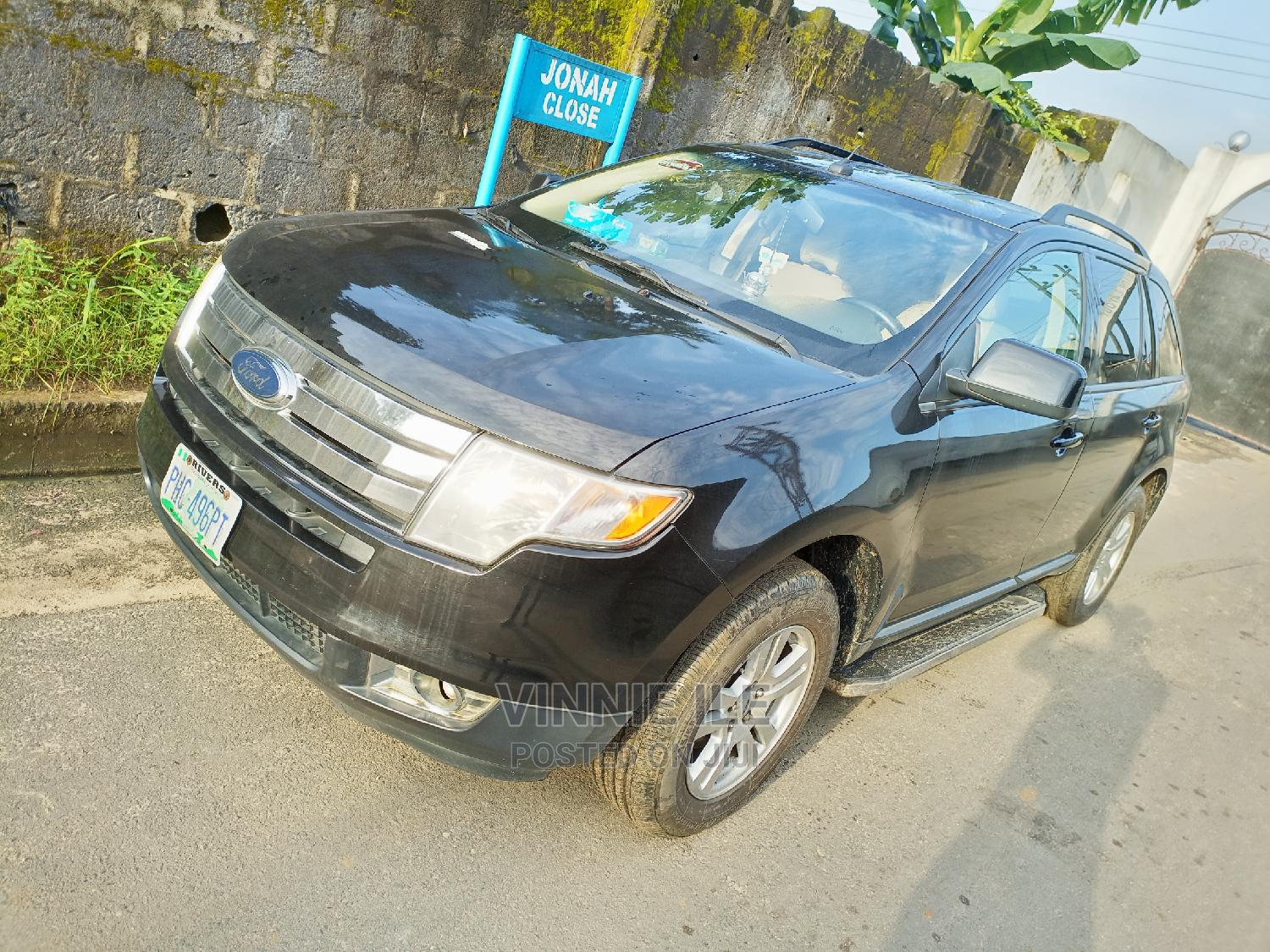 Ford Edge 2008 Black   Cars for sale in Port-Harcourt, Rivers State, Nigeria