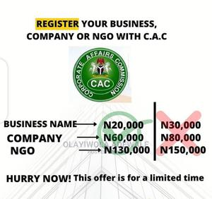 Do You Want to Register Your Business/Company With CAC | Legal Services for sale in Lagos State, Ikeja