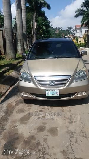 Honda Odyssey 2008 EX-L DVD Brown | Cars for sale in Abuja (FCT) State, Gwarinpa