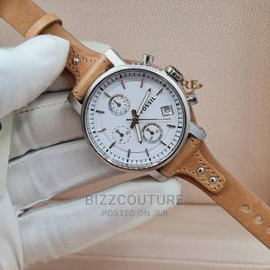 High Quality FOSSIL Leather Band Watch for Women's   Watches for sale in Abuja (FCT) State, Asokoro