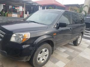 Honda Pilot 2007 EX 4x2 (3.5L 6cyl 5A) Black   Cars for sale in Lagos State, Ikeja