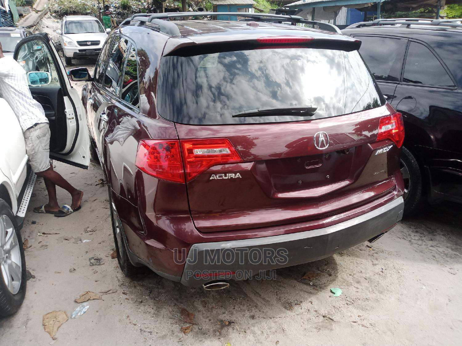 Archive: Acura MDX 2008 SUV 4dr AWD (3.7 6cyl 5A) Red