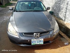 Honda Accord 2004 Sedan EX Gray   Cars for sale in Lagos State, Ojo
