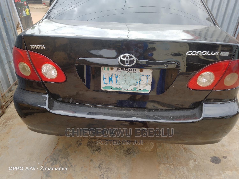 Archive: Toyota Corolla 2007 LE Black