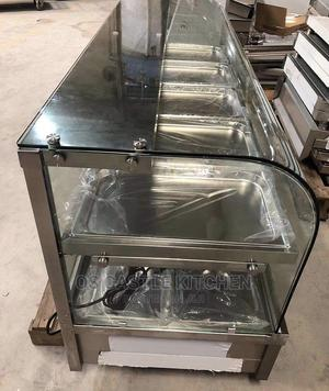 Curved Glass Food Warmer 8plate | Restaurant & Catering Equipment for sale in Lagos State, Ojo