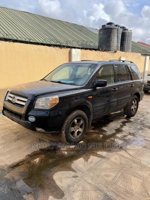Honda Pilot 2007 LX 4x4 (3.5L 6cyl 5A) Black | Cars for sale in Lagos State, Alimosho
