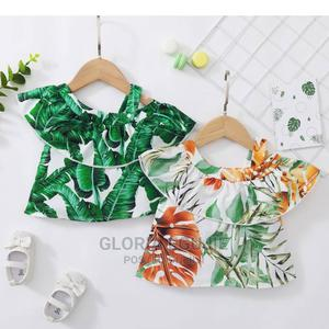 1pc Baby Girl Flounced Collar Spring Leaf Print Baby Clothes   Children's Clothing for sale in Abuja (FCT) State, Dutse-Alhaji