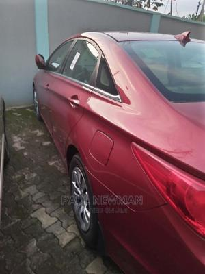 Hyundai Sonata 2013 Red | Cars for sale in Lagos State, Isolo