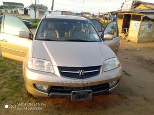 Acura MDX 2002 3.5L 4x4 Gold | Cars for sale in Lagos State, Agbara-Igbesan