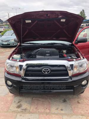 Toyota Tacoma 2008 4x4 Double Cab Red | Cars for sale in Lagos State, Amuwo-Odofin