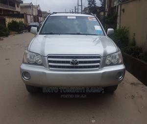 Toyota Highlander 2003 Limited V6 AWD Silver | Cars for sale in Lagos State, Gbagada