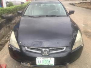 Honda Accord 2005 Sedan EX Automatic Black | Cars for sale in Lagos State, Magodo
