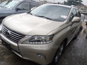 Lexus RX 2013 Gold | Cars for sale in Lagos State, Ojodu