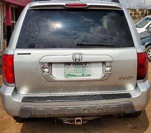 Honda Pilot 2004 EX 4x4 (3.5L 6cyl 5A) Silver | Cars for sale in Lagos State, Alimosho