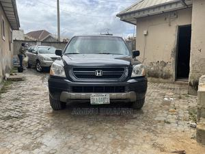 Honda Pilot 2003 EX-L 4x4 (3.5L 6cyl 5A) Gray | Cars for sale in Abuja (FCT) State, Kubwa