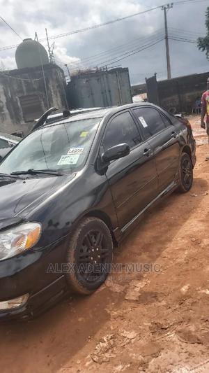 Toyota Corolla 2004 Black | Cars for sale in Lagos State, Egbe Idimu