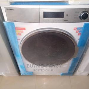 Best Quality Sharp Integrated 10kg Washing Drying Machine   Home Appliances for sale in Lagos State, Amuwo-Odofin