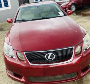 Lexus GS 2006 300 Automatic Red   Cars for sale in Lagos State, Ikeja