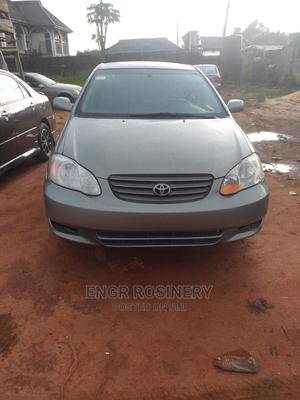 Toyota Corolla 2004 1.4 D Automatic Gray   Cars for sale in Edo State, Ikpoba-Okha