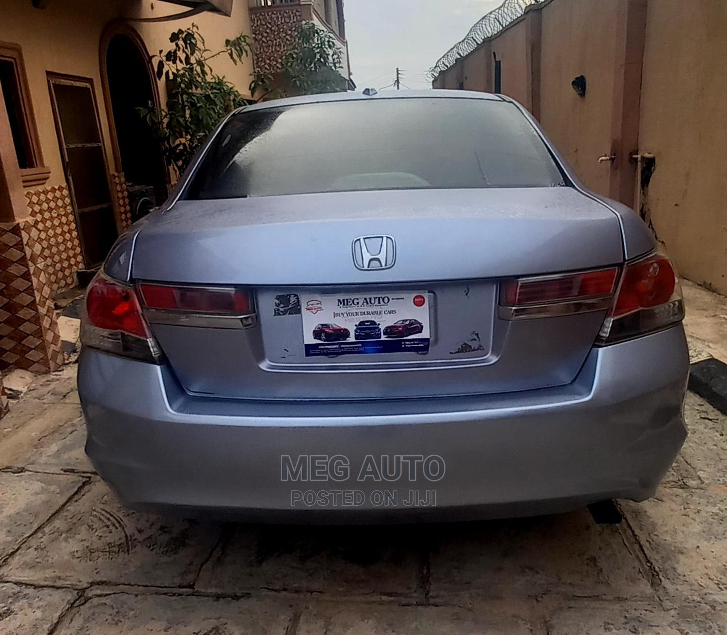 Honda Accord 2010 Sedan EX Automatic Blue | Cars for sale in Ido, Oyo State, Nigeria
