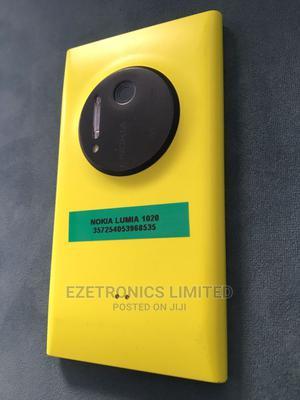 Nokia Lumia 1020 32 GB Yellow   Mobile Phones for sale in Lagos State, Ikeja