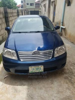 Toyota Corolla 2005 1.4 C Blue | Cars for sale in Lagos State, Surulere