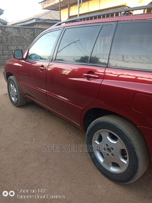 Toyota Highlander 2003 V6 FWD Red | Cars for sale in Abuja (FCT) State, Gwarinpa